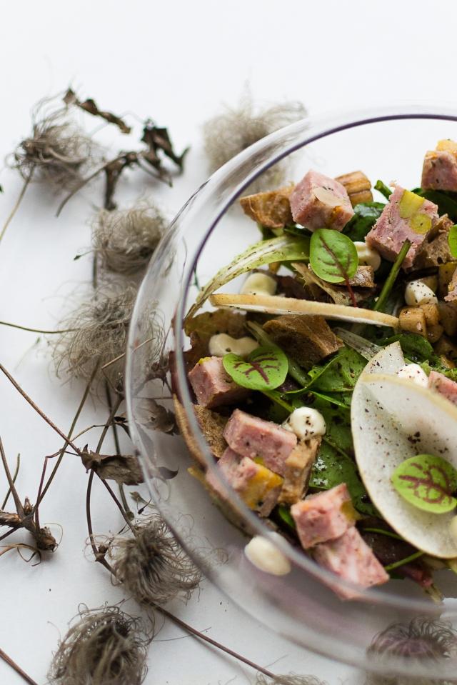 Salade gourmande de fêtes